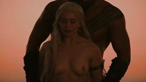 got emilia clarke all nude and sex and rape scenes no music game of thrones leaked