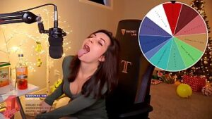 twitch girl alinity stretching out her tongue ahegao sucking dick twitch leak