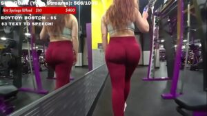 moxymary twitch live stream at the gym big ass in leggins onlyfans leaked